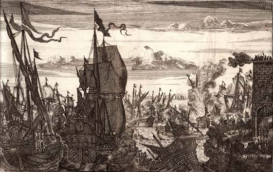 henry_morgan_destroys_the_spanish_fleet_at_lake_maracaibo