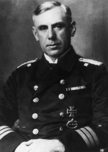 Wilhelm Canaris [1887 - 1945], Deutscher Admiral, Chef der Spionageabwehr 1935-1944, Mitglied des Widerstands vom 20. Juli 1944, hingerichtet.