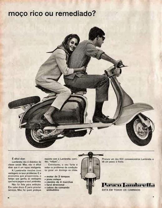 propaganda da lambretta anos 50