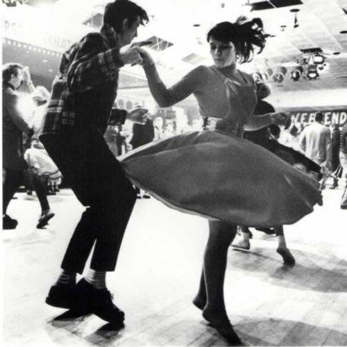 1950s Swing Dancers