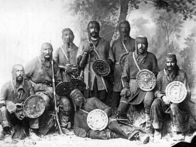 georgia - khevsur warriors