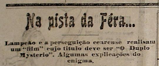9-Jornal A Imprensa, de Natal, cujo o diretor era Câmara Cascudo