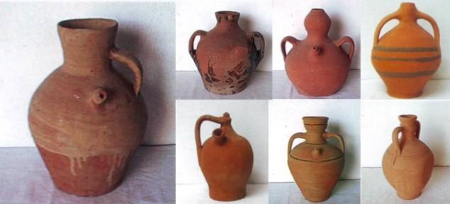 Botijas_boteja_y_botejo_Museo_Chinchilla_de_Montearagón