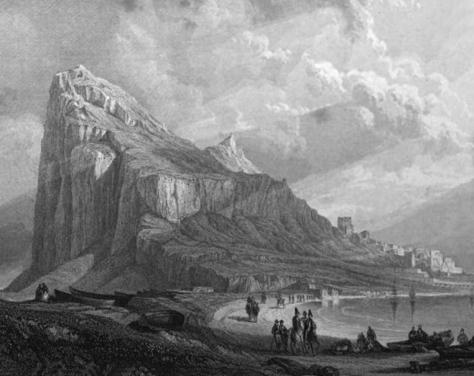 1836 - Gibraltar Thomas Roscoe