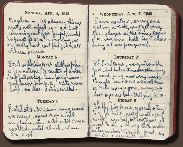 Diário de Co-Pilot Robert F. Toner