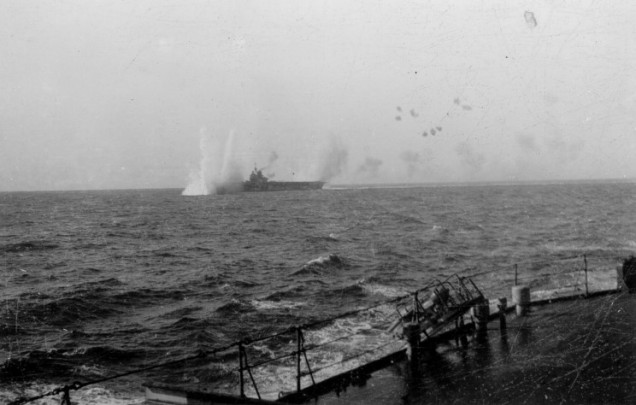HMS-Illustrious-under-attack