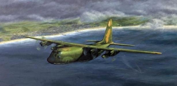 quadro-de-simon-cattlin-retratando-o-hercules-aviao-do-mecanico-com-saudades-que-o-roubou-para-voltar-pra-casa-15243180