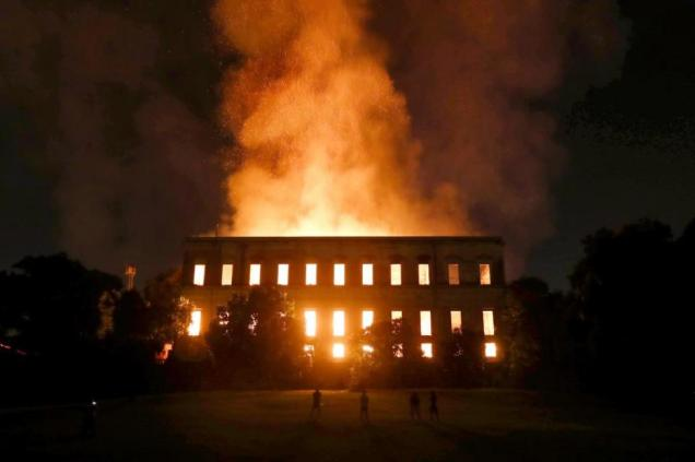 Brazils-National-Museum-destroyed-in-fire