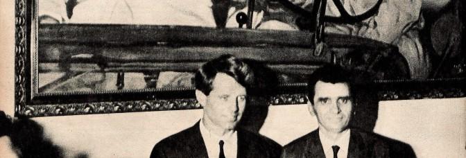 FOTO HISTÓRICA DA SEMANA – BOB KENNEDY EM UM CANAVIAL DE CARPINA, PERNAMBUCO, EM NOVEMBRO DE 1965.
