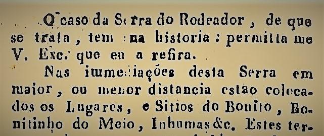 A SERRA DO RODEADOR E A IRMANDADE DO SENHOR BOM JESUS DA PEDRA